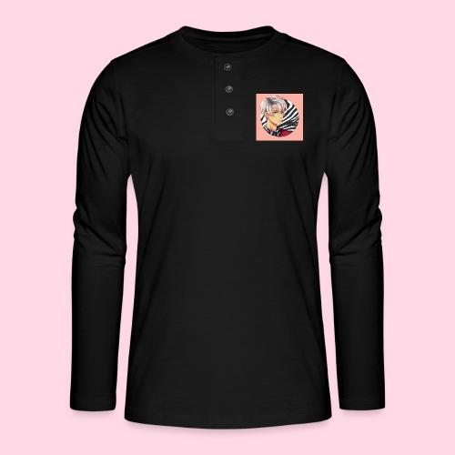 Tomas Zebra - T-shirt manches longues Henley