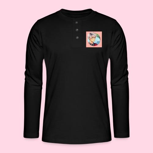 Tomas Badge - T-shirt manches longues Henley