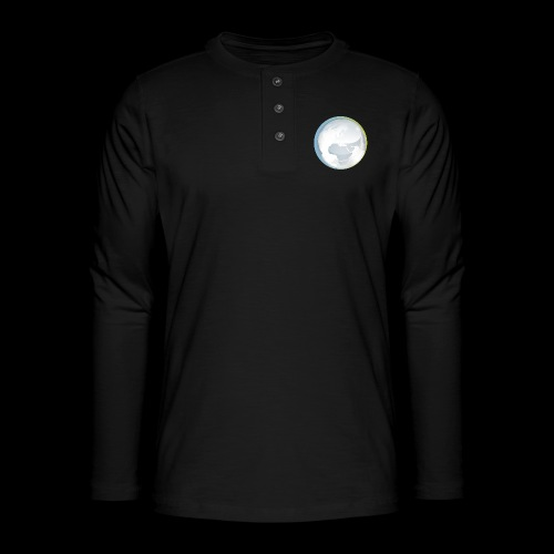 PTS logo new15 beeldmerkS png - Henley long-sleeved shirt