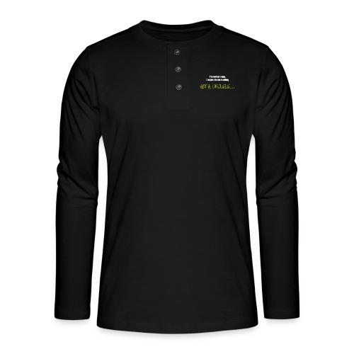 Got A Ukulele Grumpy - Henley long-sleeved shirt