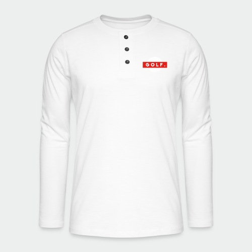 GOLF. - T-shirt manches longues Henley