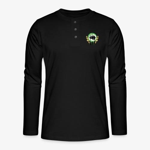 Load Aim Fire Merchandise - Henley shirt met lange mouwen