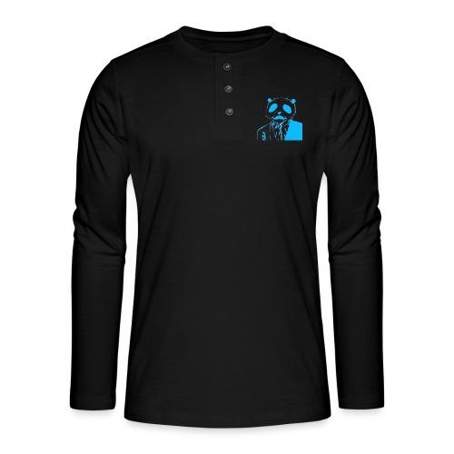BluePanda Logo - Henley long-sleeved shirt