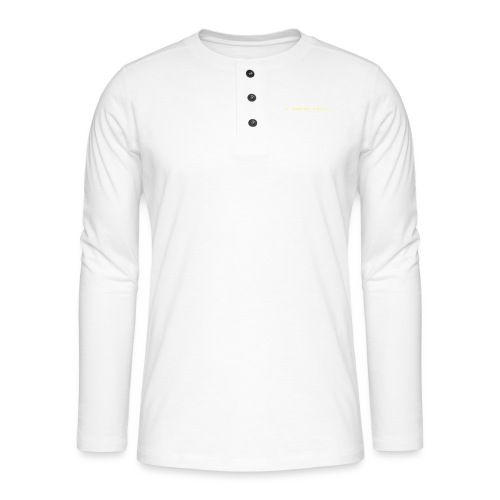 The right way to be rich - T-shirt manches longues Henley