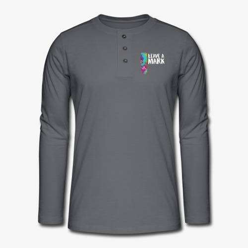 Leave a mark - Henley long-sleeved shirt