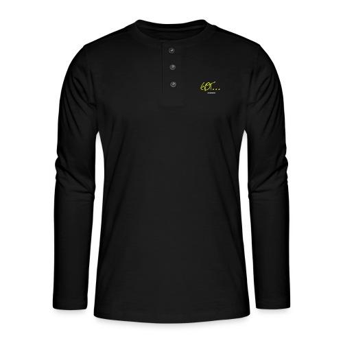 GOT LARGE LOGO - Henley long-sleeved shirt