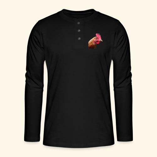 chicken - Henley pitkähihainen paita