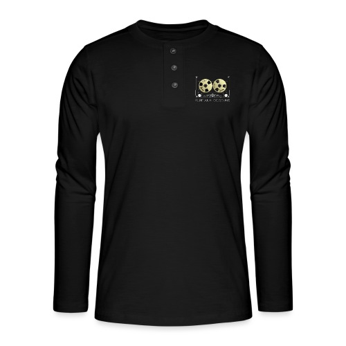 Reel golden cassette - Henley long-sleeved shirt