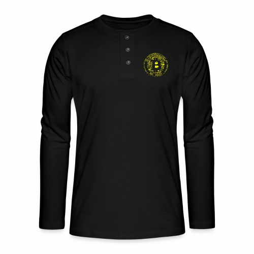 In cryptography we trust 2 - Henley long-sleeved shirt