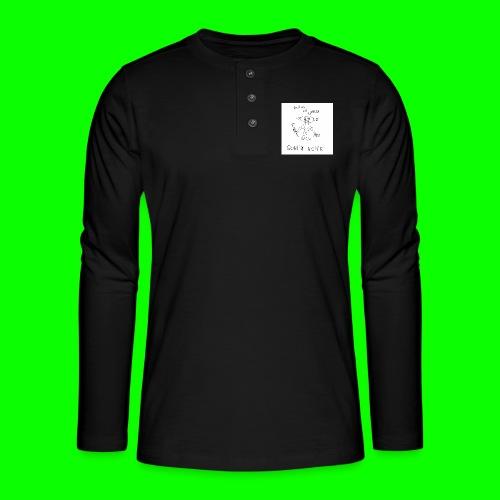 Goblin Noise - Henley long-sleeved shirt