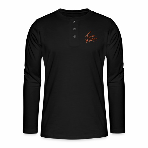 Team Mutation Scribe - T-shirt manches longues Henley