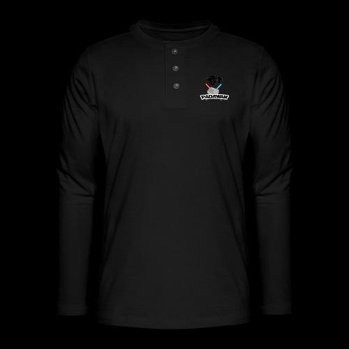 Padawan Blanc - T-shirt manches longues Henley