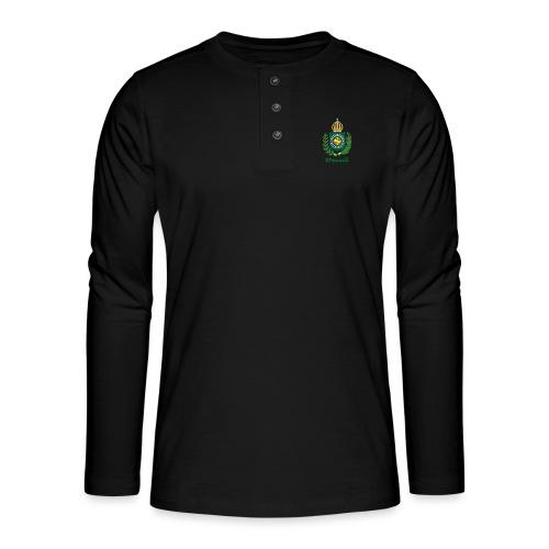 Império do Brasil - Henley langermet T-skjorte
