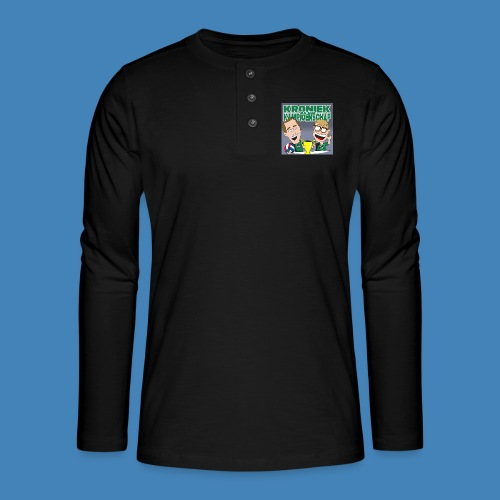 Kroniek van een Kampioenschap - Henley shirt met lange mouwen