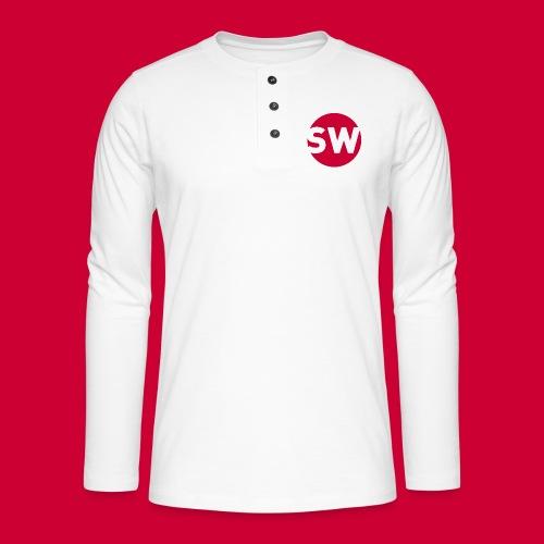 SchipholWatch - Henley shirt met lange mouwen