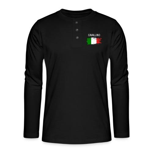 Cavallino Fanprodukte - Henley Langarmshirt