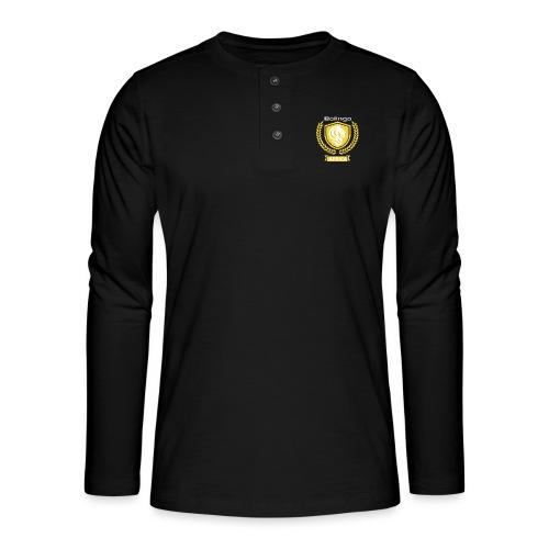 bolingo jaune - T-shirt manches longues Henley