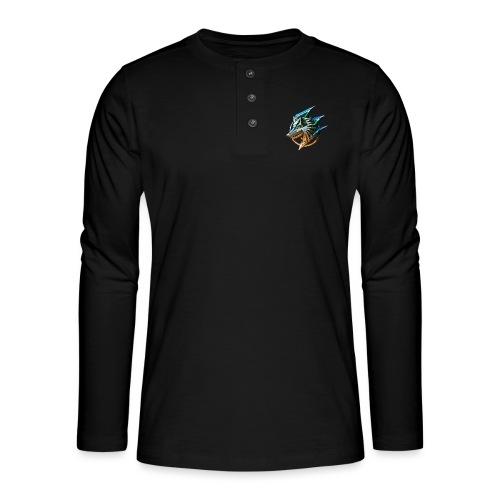 AZ GAMING WOLF - Henley long-sleeved shirt