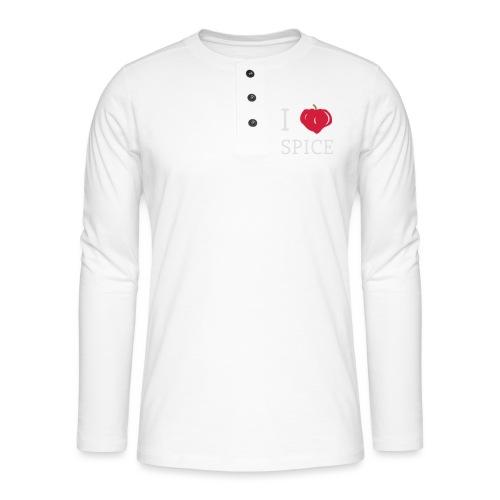i_love_spice-eps - Henley pitkähihainen paita