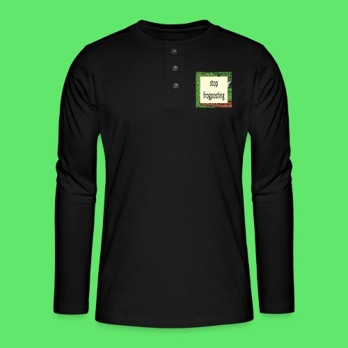 Frogposter - Henley long-sleeved shirt