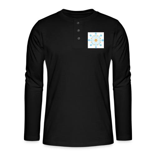 Blockchain - Henley pitkähihainen paita