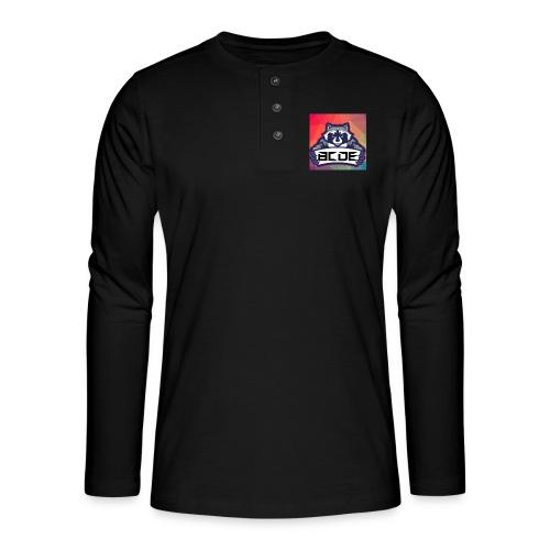 bcde_logo - Henley Langarmshirt