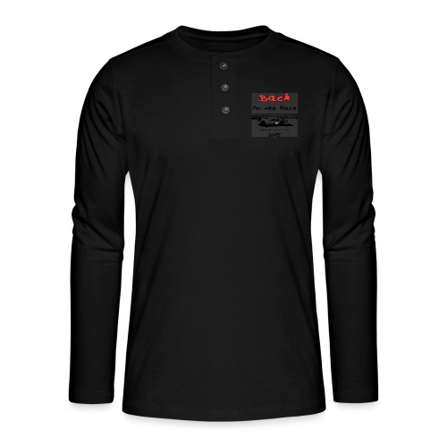 919 back in the race 2 - T-shirt manches longues Henley
