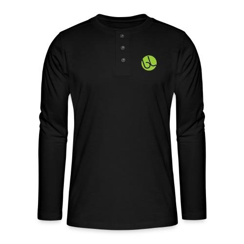 IMG_0149-PNG - Henley T-shirt med lange ærmer