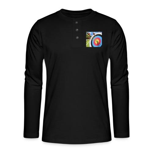 13544ACC 89C4 4278 B696 55956300753D - Henley langermet T-skjorte