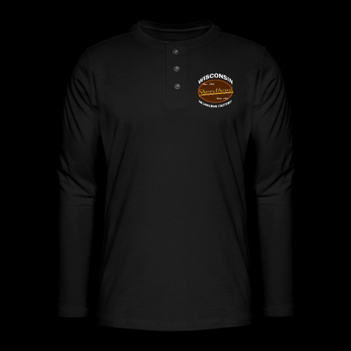 Milwaukee Shovelhead - Henley Langarmshirt