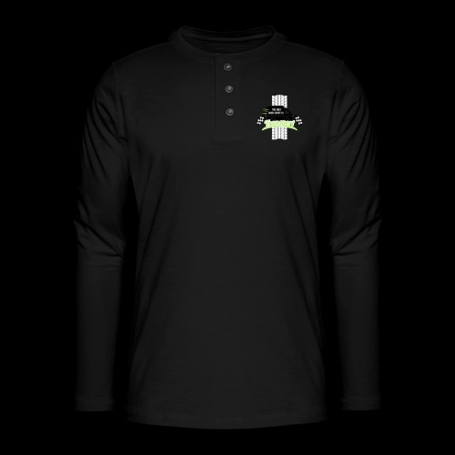 The only good Sport is Transport - Henley Langarmshirt