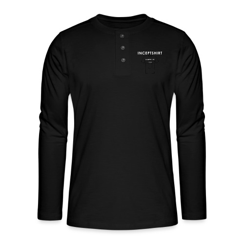 Inceptshirt - T-shirt manches longues Henley