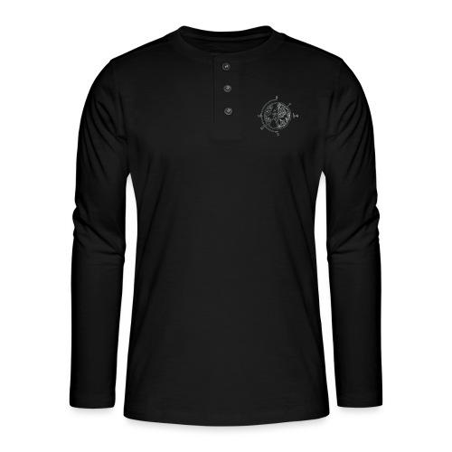 KOMPAS OFFICIAL - Henley shirt met lange mouwen
