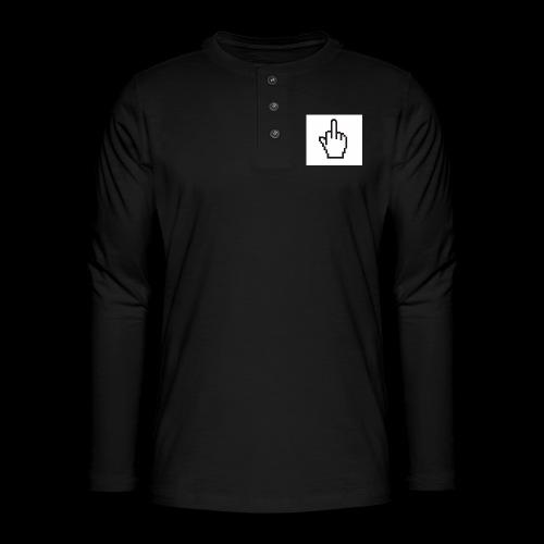 IMG 0451 JPG - Henley shirt met lange mouwen
