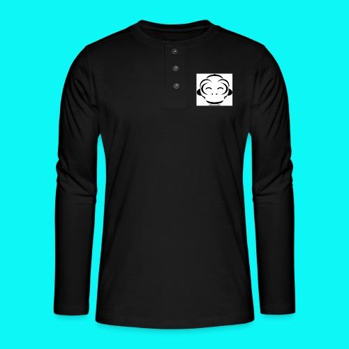 FullSizeRender_-1- - Henley T-shirt med lange ærmer