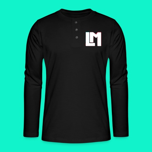 LM - Henley shirt met lange mouwen