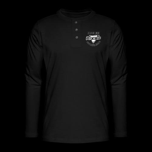 Rocks Enschede NL B-WB - Henley shirt met lange mouwen