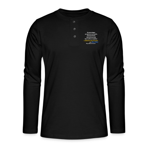 LMF Chirurgie v2 - T-shirt manches longues Henley