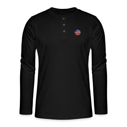 DanishRP New Logo - Henley T-shirt med lange ærmer