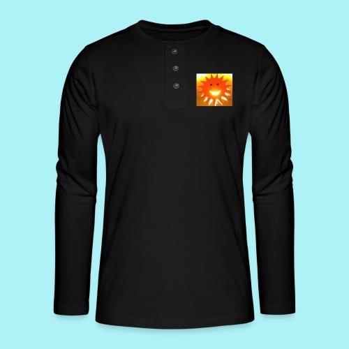 Soleil Souriant - T-shirt manches longues Henley