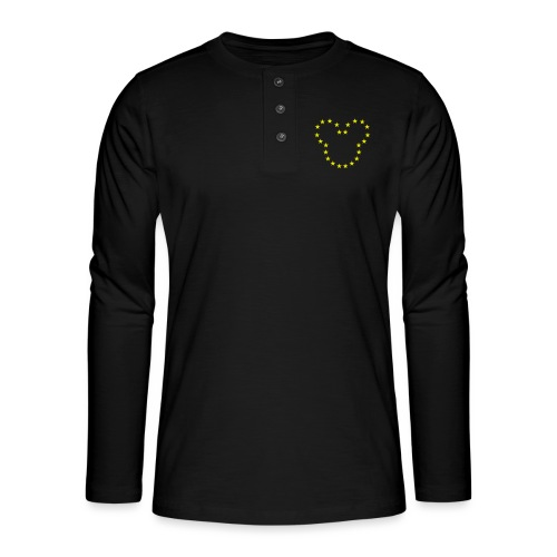 The European Kingdom™ - Henley long-sleeved shirt
