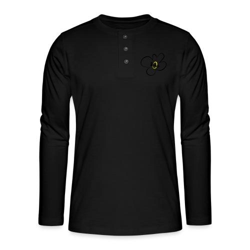 Gänseblümchen - Henley Langarmshirt