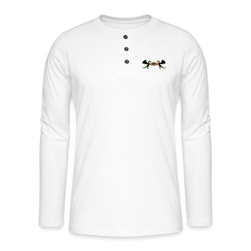 Styler Draken Design - Henley shirt met lange mouwen