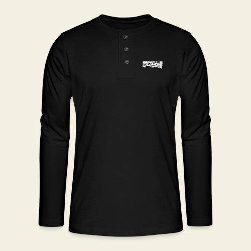 ripped paper - Henley T-shirt med lange ærmer