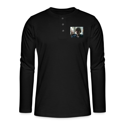 The official RetroPirate1 tshirt - Henley long-sleeved shirt