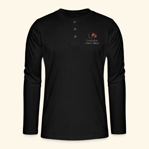 Dynomite Personal Training - Henley long-sleeved shirt
