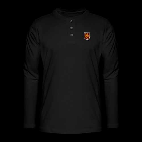 KG logo - Henley pitkähihainen paita