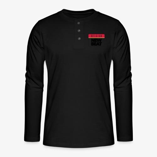 BNB LOGO - Henley shirt met lange mouwen