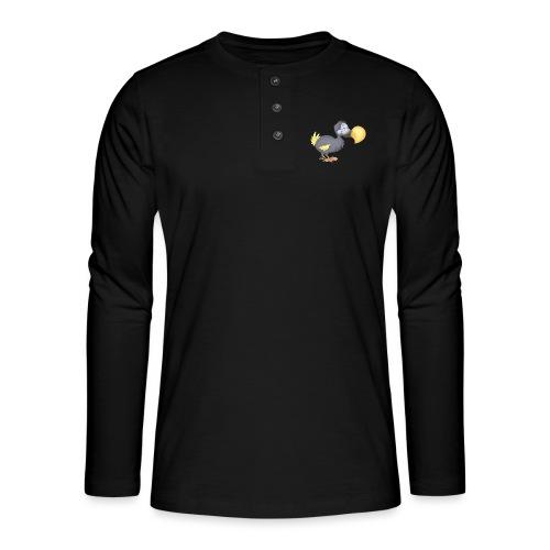 Dropsiger Dodo - Henley Langarmshirt