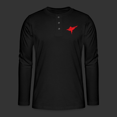 Raven Red - Henley long-sleeved shirt